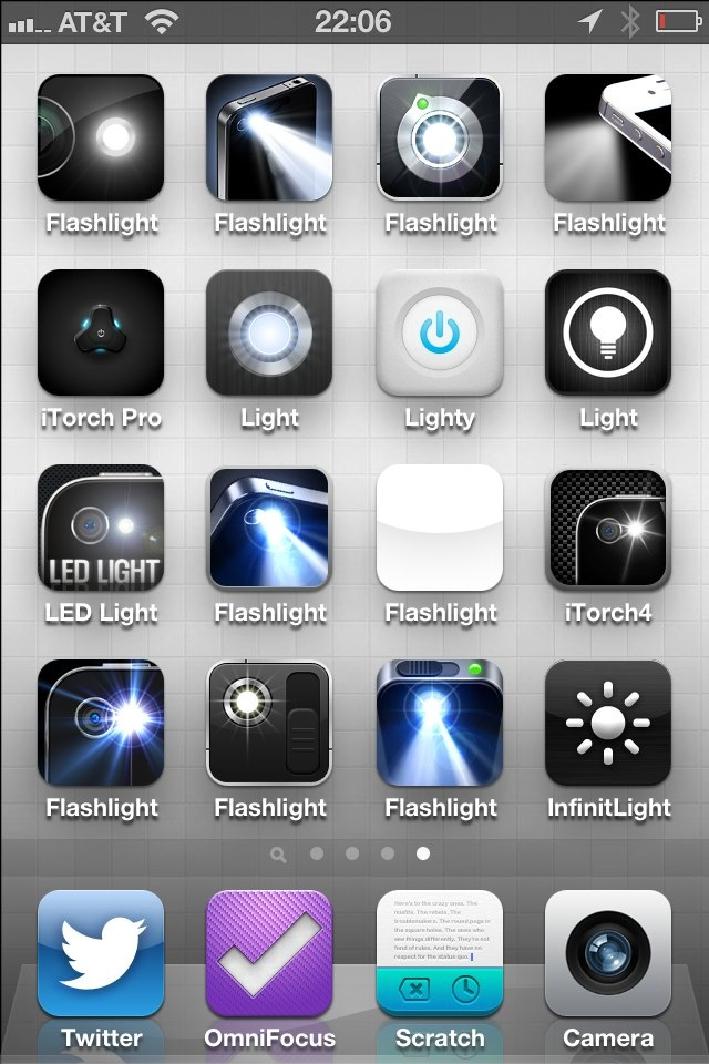 Finding a Good Flashlight App for the iPhone – The Brooks Review